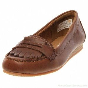 Timberland Women's Caska Kiltie leather Loafer